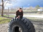 2013.20.3 - Declo, Idaho Paul enjoying the playground toys :)