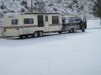 2013.23.3 - snowing this morning in Evanston, Wyoming