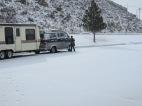 2013.23.3 - I'm grabbing shtuff out of the van. Evanston, Wyoming