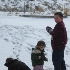2013.23.3 - I'm thankful they got to enjoy the snow <3Evanston, Wyoming