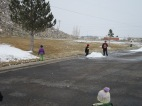 2013.23.3- The boys enjoying the very last of the snow.