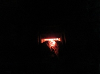 No flash shot, beautiful sideways burning!