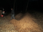 then covered that with woodchips