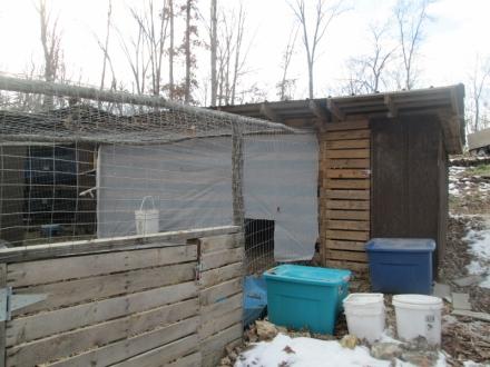2014-11-19 Winter Proofing the Coop