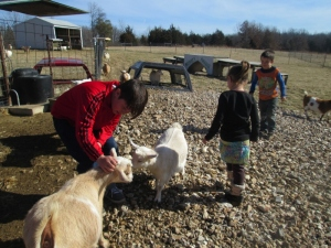 2015/01/28 our first visit they got to play with and pet the kids