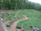 Pretty much all the log bordered garden beds you see here are all hugelkultur